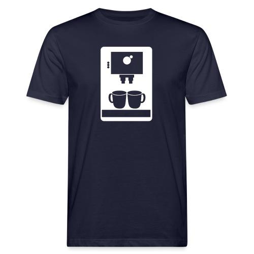 Kaffemaskin - Ekologisk T-shirt herr