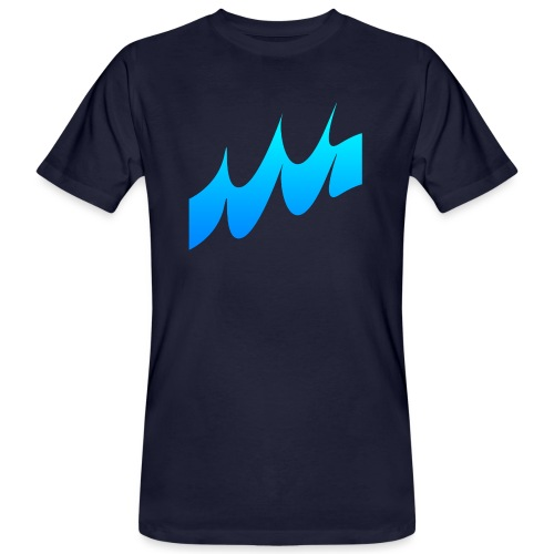 Ocean Waves or just Deep - Men's Organic T-Shirt