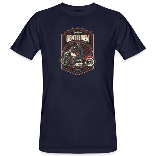 Gentlemen Biker Vintage - T-shirt ecologica da uomo