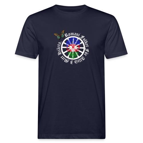 LennyhjulRomaniFolketivitfjerliskulle - Ekologisk T-shirt herr