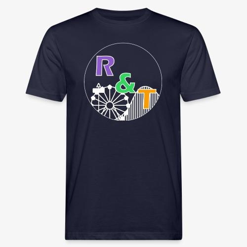*Limited Edition* Robin & Thomas Merch Wit - Mannen Bio-T-shirt
