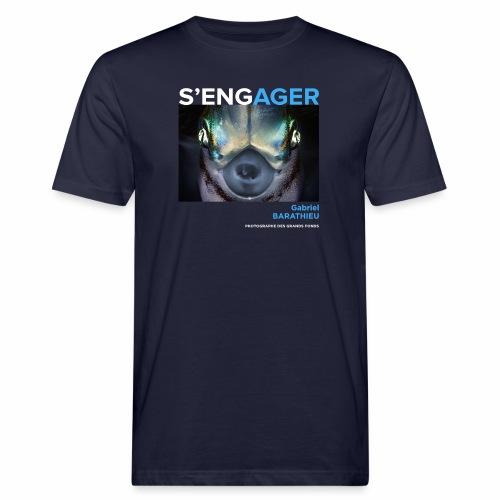 1 Achat = 1 Don à l'association Deep blue explore - T-shirt bio Homme