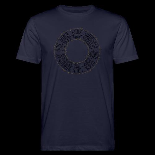 CALLIGRAPHY-CIRCLE - T-shirt ecologica da uomo