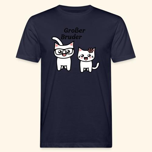 Großer Bruder - Männer Bio-T-Shirt