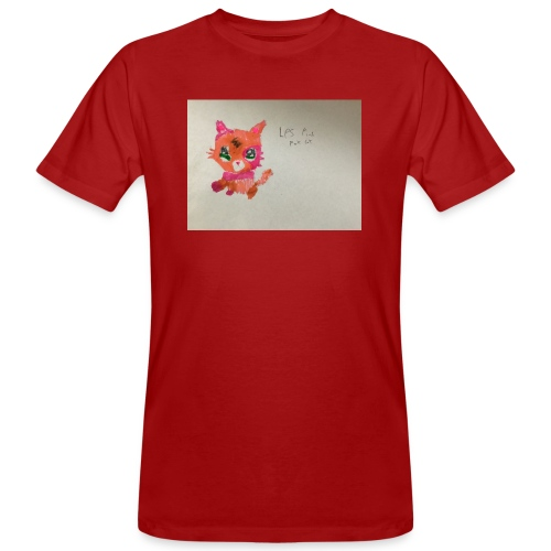 Little pet shop fox cat - Men's Organic T-Shirt