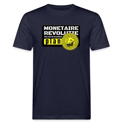 Bitcoin Revolutie - Mannen Bio-T-shirt