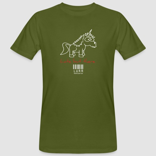 lurr unicorn - Men's Organic T-Shirt