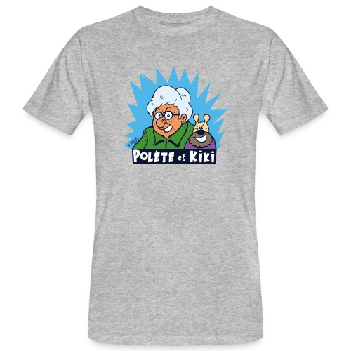 tshirt polete et kiki - T-shirt bio Homme