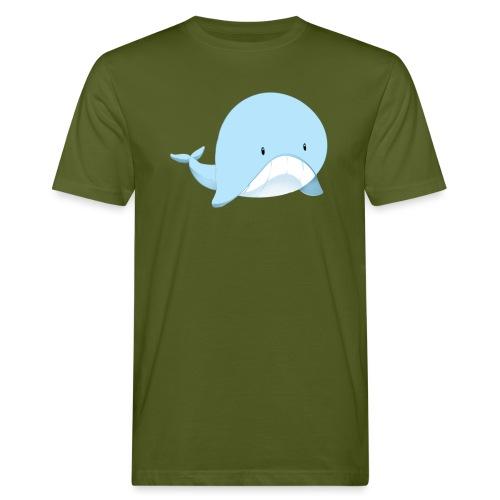 Whale - T-shirt ecologica da uomo
