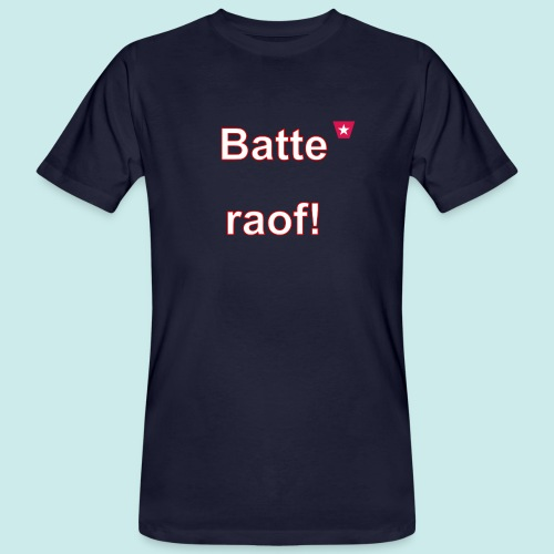 Batteraof vert w - Mannen Bio-T-shirt