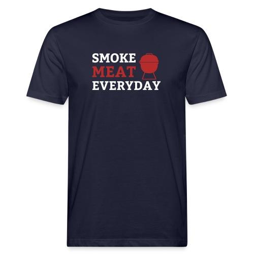 smoke meat everyday shirt - Männer Bio-T-Shirt