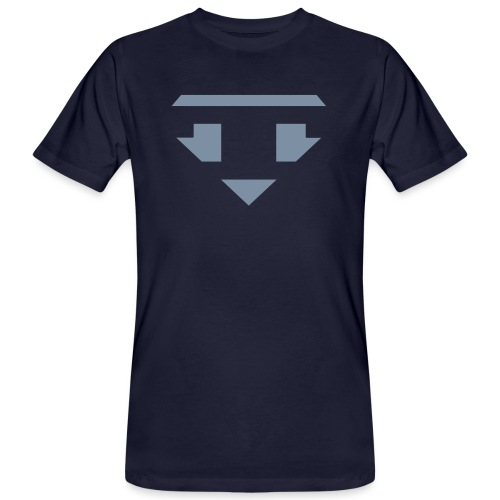 Twanneman logo Reverse - Mannen Bio-T-shirt