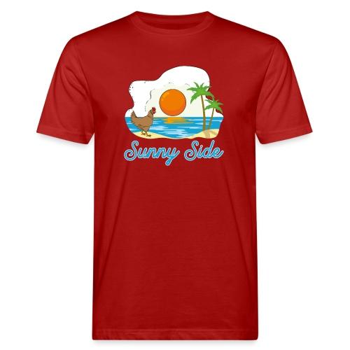 Sunny side - T-shirt ecologica da uomo