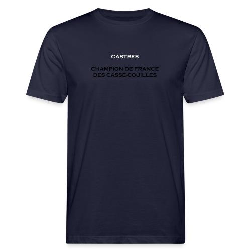 design castres - T-shirt bio Homme