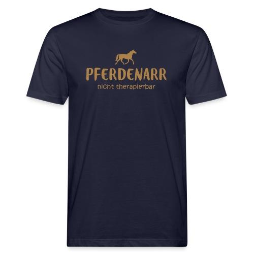 Vorschau: Pferdenarr - Männer Bio-T-Shirt