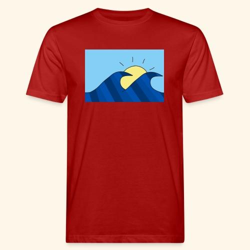 Espoir double wave - Men's Organic T-Shirt