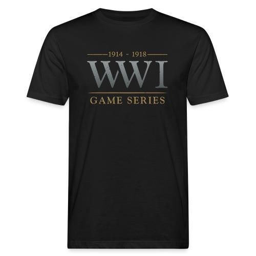 WW1 Game Series Logo - Mannen Bio-T-shirt