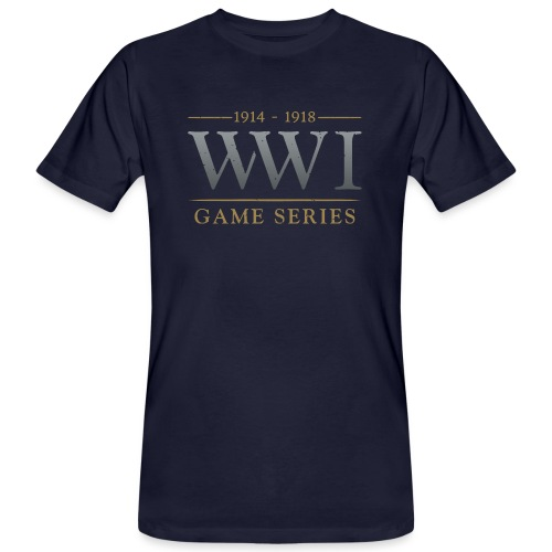 WW1 Game Series Logo - Mannen Bio-T-shirt