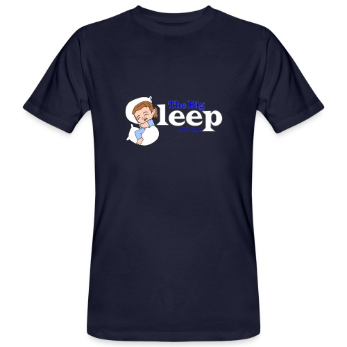 The Big Sleep for ME Blue - Men's Organic T-Shirt