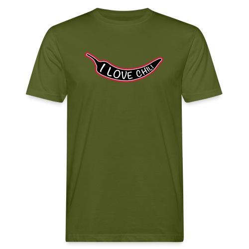 I love chili - Miesten luonnonmukainen t-paita