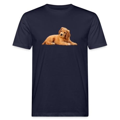 schoenenstelend blafbeest - Mannen Bio-T-shirt