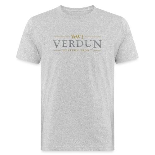 New Verdun Official Logo - Mannen Bio-T-shirt
