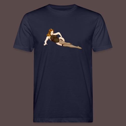 Pinup Lingerie Vargas big - T-shirt ecologica da uomo
