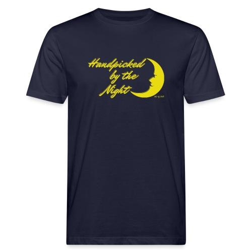 Handpicked design By The Night - Logo Yellow - Men's Organic T-Shirt