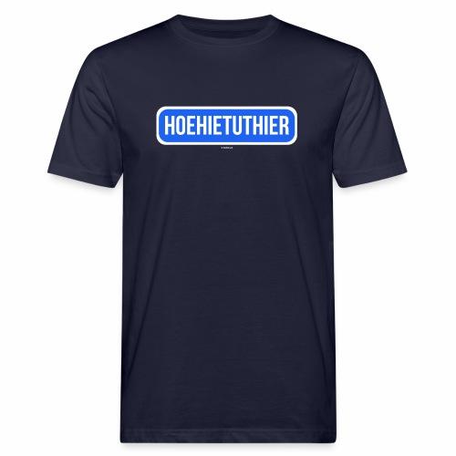 Hoehietuthier - Mannen Bio-T-shirt