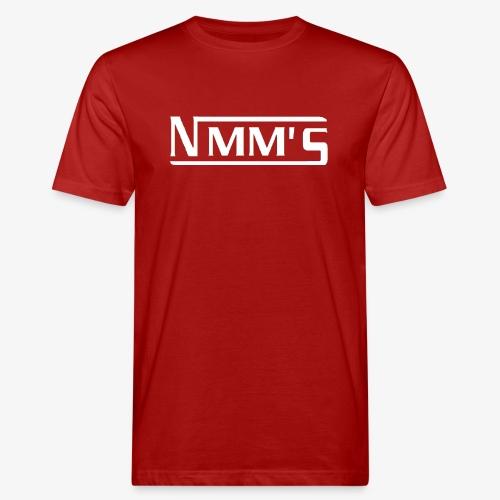 logo white - Camiseta ecológica hombre
