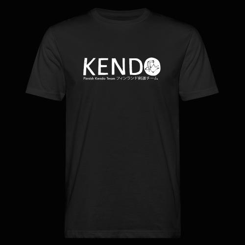Finnish Kendo Team Text - Miesten luonnonmukainen t-paita