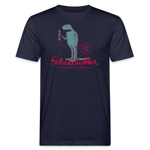 Der Echsecutter - Männer Bio-T-Shirt