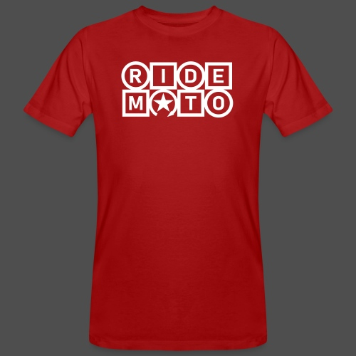 ride moto - Men's Organic T-Shirt