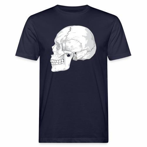 Schädel - Männer Bio-T-Shirt