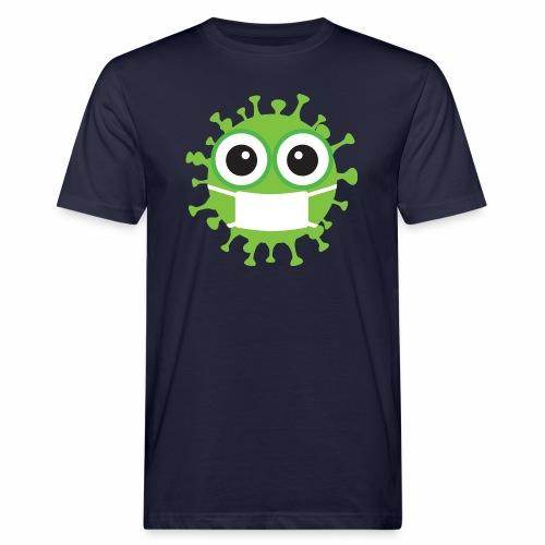 Uśmiechnij się pod maską - Ekologiczna koszulka męska