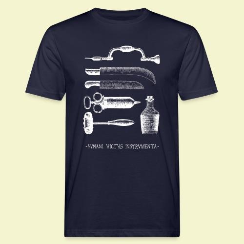 Humani Victus Instrumentia - White - T-shirt ecologica da uomo