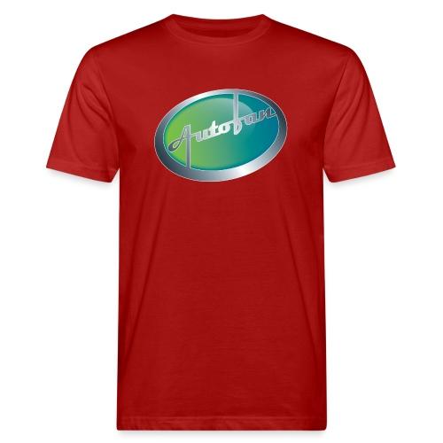 Autofan groen - Mannen Bio-T-shirt
