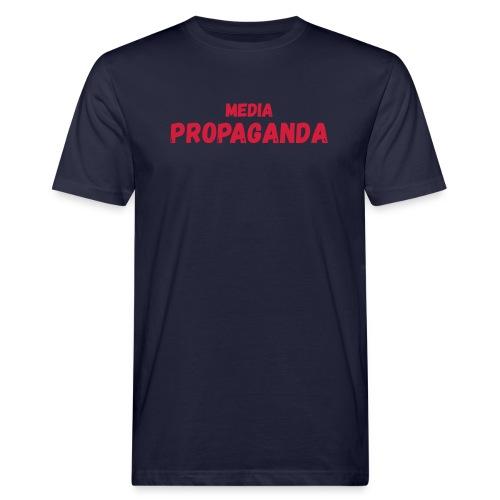 Media propaganda, propagande, fake news, mensonge - T-shirt bio Homme