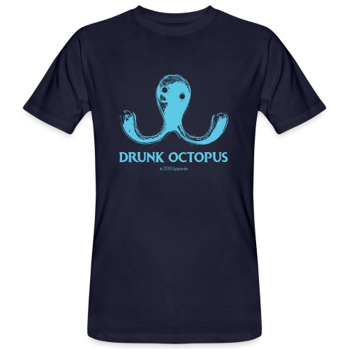 Drunk Octopus - Men's Organic T-Shirt