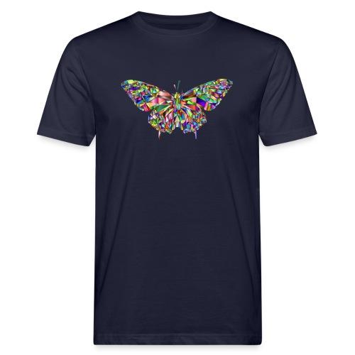 Geflogener Schmetterling - Männer Bio-T-Shirt