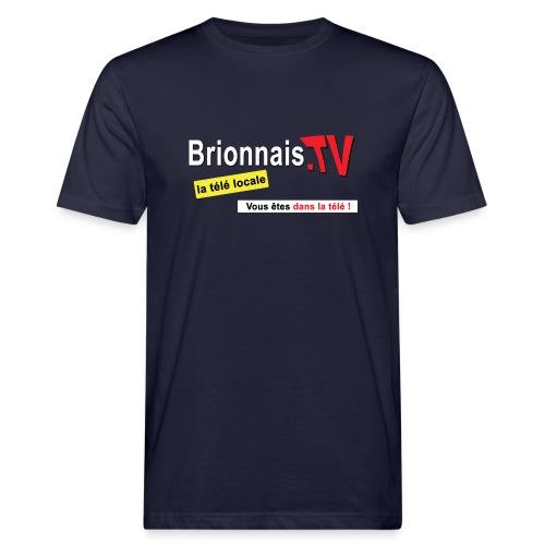 BTV logo shirt dos - T-shirt bio Homme