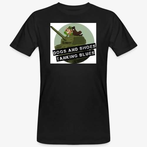 logo dogs nieuw - Mannen Bio-T-shirt
