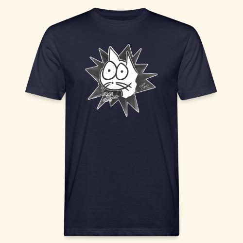 Glotzi die Glotzkatze - Männer Bio-T-Shirt