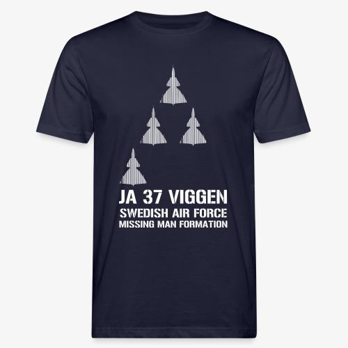JA 37 Viggen - Missing Man Formation - Ekologisk T-shirt herr