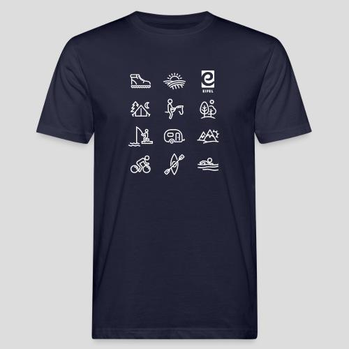 Eifel - Freizeit - weiß - Männer Bio-T-Shirt