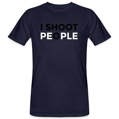 I shoot people - Men's Organic T-Shirt
