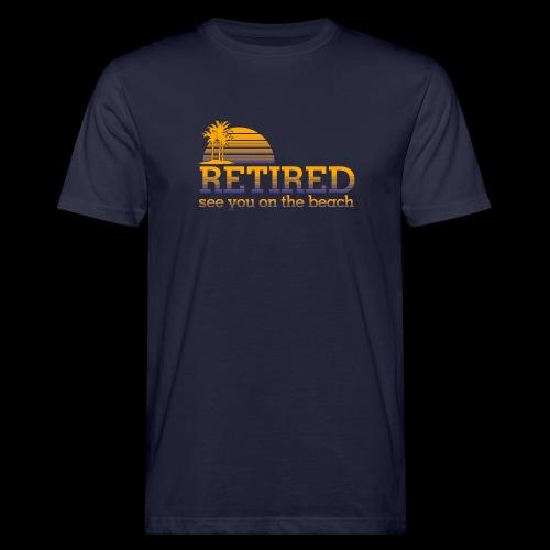 Retraite - T-shirt bio Homme