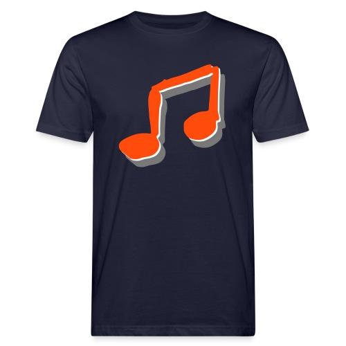 Liederpfarrer-Note - Männer Bio-T-Shirt