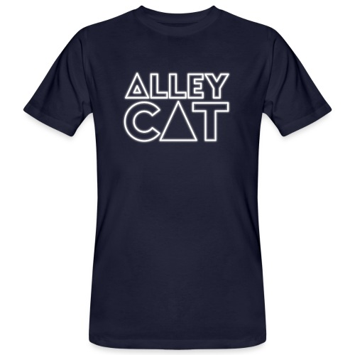 Alleycat Logo Shirt - Männer Bio-T-Shirt