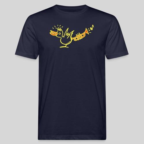 trompetenvogel - Männer Bio-T-Shirt